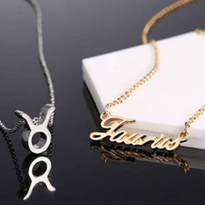 Jewelry - Taurus Zodiac Constellation Necklace